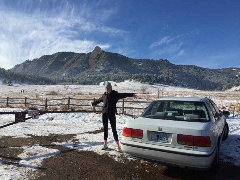 #RhondatheHonda in Denver, CO.